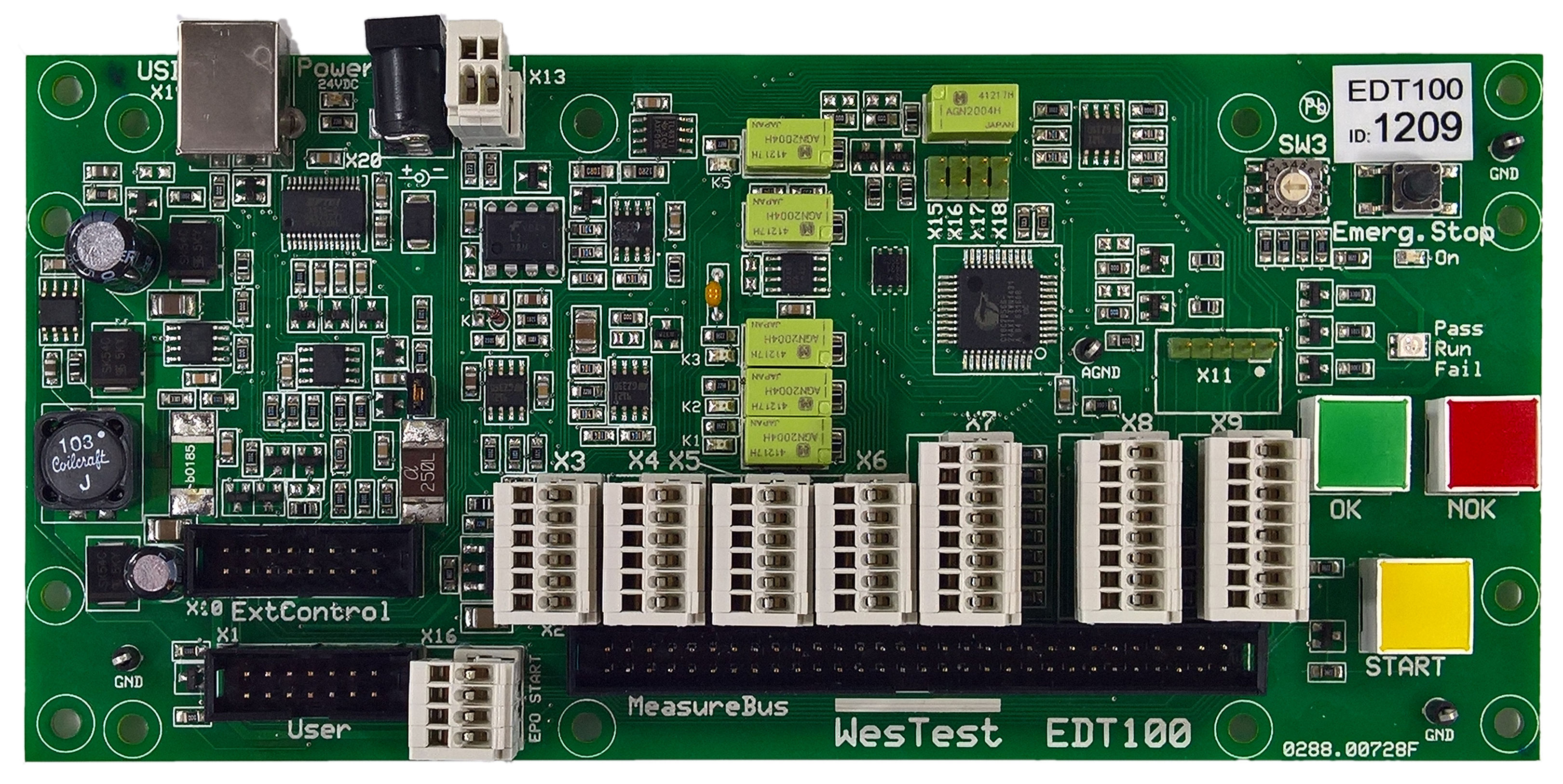 EDTest-Controller-Boards